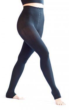 25797bb9a0 Solidea Active Massage Long Leggings - Black color Black Leggings, Sheer  Leggings, Liposuction,