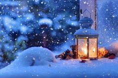The night the snow silently crept in.