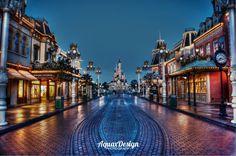 Disneyland Paris, France DLRP , Main Street