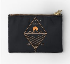 Redbubble makeup bag Zipper Pouch, Cotton Tote Bags, Best Makeup Products, Zip Around Wallet, Finding Yourself, Makeup Bags, Unique, Sewing Makeup Bag