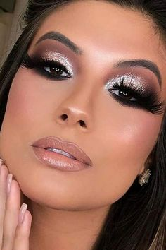 Sexy Makeup, Gorgeous Makeup, Makeup Art, Beauty Makeup, Purple Eye Makeup, Smokey Eye Makeup, Eyeshadow Makeup, Fair Skin Makeup, Party Makeup Looks