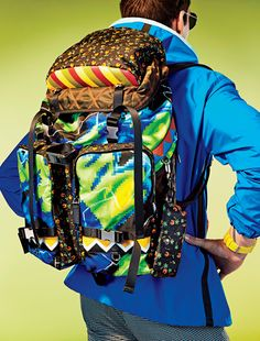 Maximalist Backpacks Are This Spring's Must-Have Bags