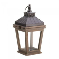 Gallery of Light 10015422 Bungalow Candle Lantern