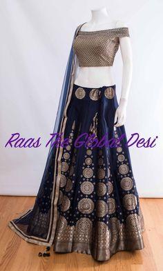 CHOLI-Raas The Global Desi-[wedding_lehengas]-[indian_dresses]-[gown_dress]-[indian_clothes]-[chaniya_cholis] Indian Gowns Dresses, Indian Fashion Dresses, Indian Designer Outfits, Indian Outfits, Designer Dresses, Bridal Dresses, Indian Clothes, Wedding Dress, Fashion Outfits