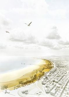 Re-qualification and Redevelopment of the Beach and Seafront of Figueira da Foz and Buarcos Proposal / Labor4plus