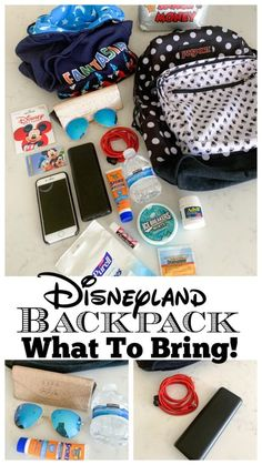 Backpack What To Bring! - Picky Palate - Disneyland Tips Disneyland Backpack What To Bring! - Picky Palate - Disneyland Tips! Disneyland Backpack What To Bring! - Picky Palate - Disneyland Tips!Disneyland Backpack What To Bring! Viaje A Disney World, Disney World Packing, Disney World Vacation Planning, Walt Disney World Vacations, Disney Planning, Disney Parks, Backpack For Disney World, Disney Land Florida, Trip To Disney World