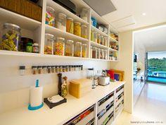 Bella Systems Creates Beautiful Custom Pantry Closets in New