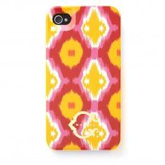 C. Wonder Argyle Ikat iPhone Case