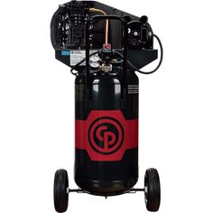 FREE SHIPPING — Chicago Pneumatic Reciprocating Air Compressor — 2 HP, 26 Gallon, 115/230 Volt, 1-Phase, Model# 8090254130
