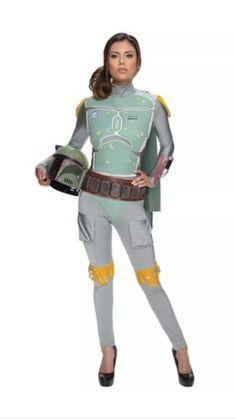 Halloween Costumes: Star Wars Women Boba Fett Female Adult Costume New Size Medium -> BUY IT NOW ONLY: $44.85 on eBay!