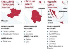 Estudio de la ONU afirma que el Cártel de Juárez se debilitó; Domina México el Cártel de Jalisco | El Puntero