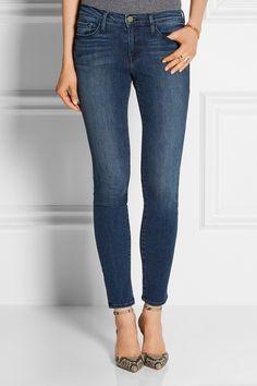 FRAME DENIM Le Skinny de Jeanne mid-rise jeans £230