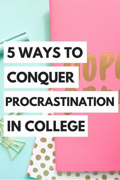Don't fall into college procrastination! Here are some tips on staying ahead.