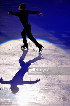 Daisuke Takahashi of Japan performs in the Gala Exhibition during day three of ISU Grand Prix of Figure Skating 2013/2014 NHK Trophy at the Yoyogi...