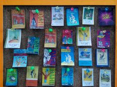 Amazing real pins of Roald Dahl book covers!!