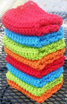 56 Quick & Easy Crochet Dishcloth | DIY to Make