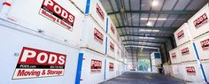 Business - PODS® Moving & Self Storage Pods Moving, Container Architecture, Self Storage, Commercial, Business, Store, Business Illustration