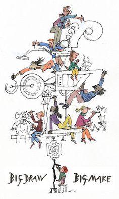 Quentin,Blake,Signed,Print,Quentin Blake, Quentin Blake prints, Quentin Blake print, Roald Dahl, Quentin Blake signed print, Roald Dahl book...