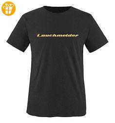 Comedy Shirts - Lauchmelder - Herren T-Shirt - Schwarz / Gold Gr. XXL - Shirts mit spruch (*Partner-Link)