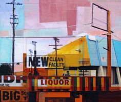 Jon Measures is an English artist based in Los Angeles making art in and about the city of Angels.