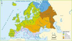 mapa rios y lagos de europa - Buscar con Google