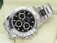 AUTHENTIC ROLEX STAINLESS STEEL DAYTONA COSMOGRAPH 116520 BLACK DIAL. Get the lowest price on AUTHENTIC ROLEX STAINLESS STEEL DAYTONA COSMOGRAPH 116520 BLACK DIAL and other fabulous designer clothing and accessories! Shop Tradesy now
