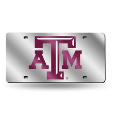Texas A&M Aggies NCAA Laser Cut License Plate Tag
