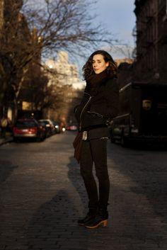 On the Street….Bank St., New York « The Sartorialist