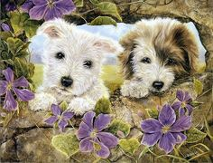 For my friend Debbie who loves dogs like I do.Hugs..