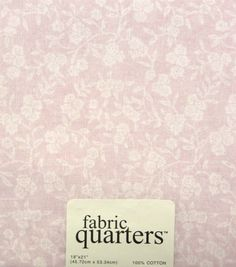 Fabric- Quarters Assorted Fabric- Pink