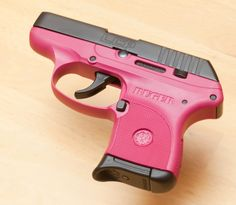 I bought this gun in silver last year-now it comes out in PINK! I might be trading for this one.