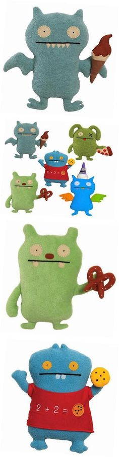 Uglydolls 158781: Uglydolls 12 Foodies Food Collection Ox Pizza, Jeero Pretzel, Ice Bat Ice -> BUY IT NOW ONLY: $55.53 on eBay!