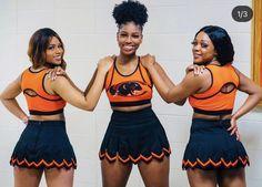 Black Cheerleaders, My Sisters Keeper, Team Photos, Happy Wednesday, Big Bows, Black Girls, Cheerleading, Cheer Skirts, Instagram
