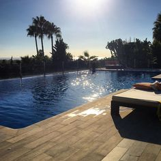 That's a wrap! The sun setting on another full-on week of 2017 season prep. Happy weekend! #LuxuryTravel #NewVillas #seaview #Marbella #sunset #Spaininstyle