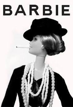 Barbie as Gabrielle Bonheur Chanel