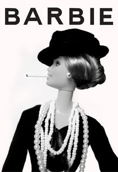 I wish this Coco Chanel Barbie existed. Definitely one of those I couldn't take out of the packaging.