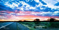 Open Road - Southwest Sunset