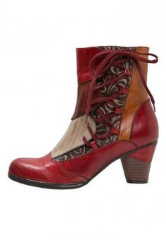 LAURA VITA - TALER - Veterlaarsjes - rouge Scarpe Carine 911e73dc79a