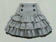 Candy Girl Skirt by Angelic Pretty Baby Skirt, Baby Dress, Ruffle Skirt, Ruffles, Little Girl Dresses, Girls Dresses, Skirts For Kids, Kids Frocks, Frock Design
