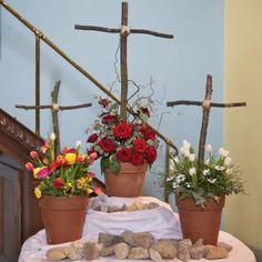 liturgisch bloemstuk pasen - Bing Afbeeldingen
