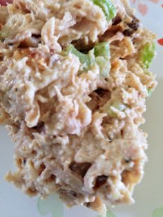 I just had the simplest and easiest chicken salad ever, and the wonderful thing about it is that it would also work well for the soft foods stage. Chicken thunks hard for me but my younger son pret… Low Carb High Fat, High Protein Low Carb, High Protein Recipes, Low Carb Keto, Low Carb Recipes, Diet Recipes, Cooking Recipes, High Protien, Skillet Recipes