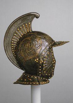 Parade helmet a l'antique --French (possibly Paris)