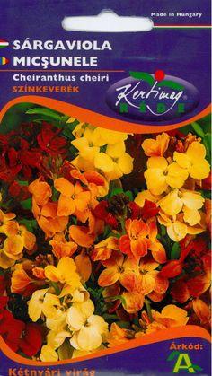 Évelő virágok : Sárgaviola színkeverék Hungary