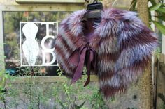 FUR WRAP - ONE SIZE FITS ALL   MADE TO ORDER