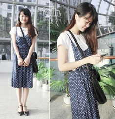 váy yếm mori girl - Google Search