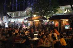 Lau Pa Sat - the second BEST place to eat (still in Singapore): the best satay and ais cakang.