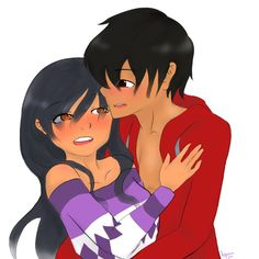 """So... It took me way to long to draw the, """"Aftermath"""" or Aaron and Aphmau's...."""