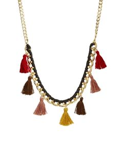 ASOS Limited Edition Tassel Necklace