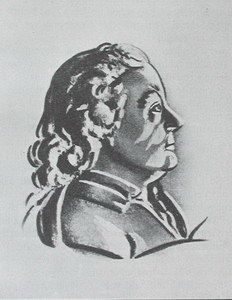 Christian Mayer (1719-1783),  Czech astronomer and teacher.  (There is no known portrait of Mayer.) By invitation, Mayer observed the 1769 transit of Venus in St Petersburg. He was Court Astronomer at Mannheim (Germany) until the Jesuit order, of which he was one, was dissolved by the Pope. He was still able to continue his astronomical studies. His is known today for his study of double stars, of which he proposed some were true binaries orbiting each other.