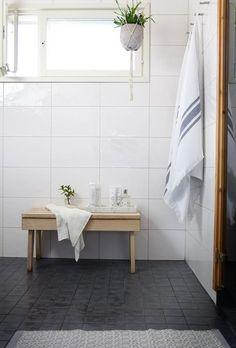 Muoti mielessä: UUTTA KYLPYHUONEESSA Bathroom Inspiration, Laundry Room Inspiration, Bathroom Vanity, House Interior, Pretty Room, Bathroom Essentials, Laundry Room Bathroom, Bathroom Toilets, Bathroom Cleaning